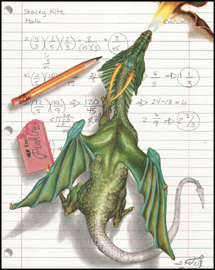 Math Dragon 215x270